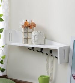 Onlineshoppee MDF Wall Shelf(Number of Shelves - 1)