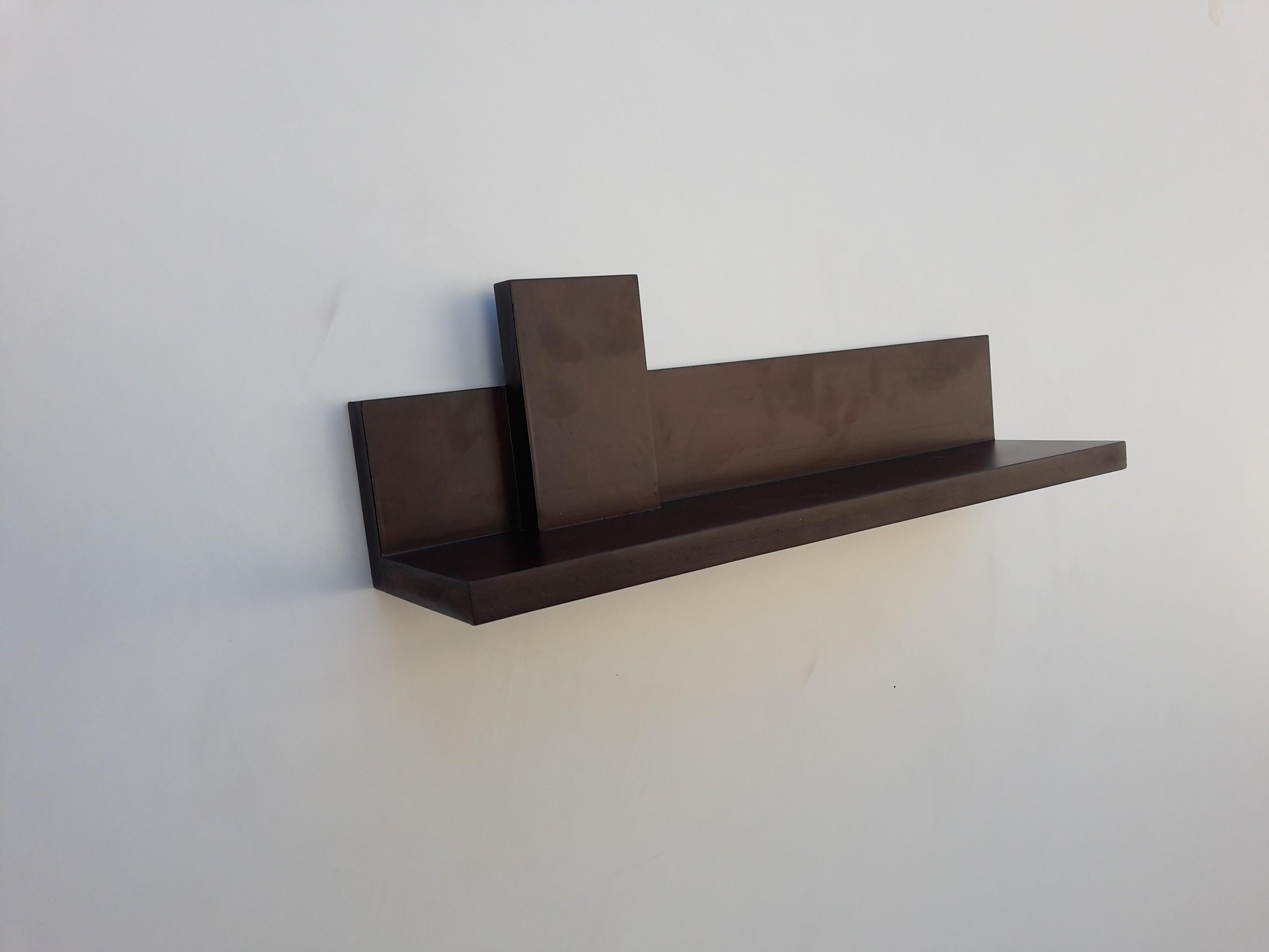 View Lemodulor MDF Wall Shelf(Number of Shelves - 1, Brown) Furniture (Le Modulor)