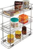 Leaves Stainless Steel Wall Shelf (Numbe...