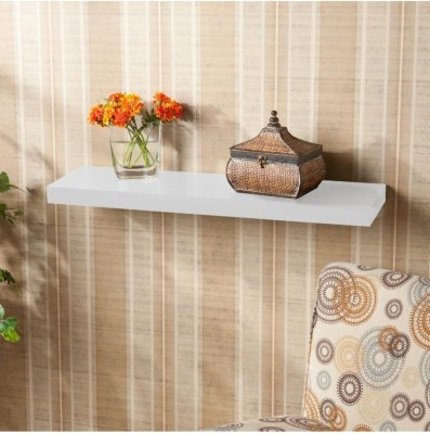 mandirworld Wooden Wall Shelf