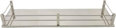Dolphy Bathroom Shelf 16 Inch Stainless Steel Wall Shelf