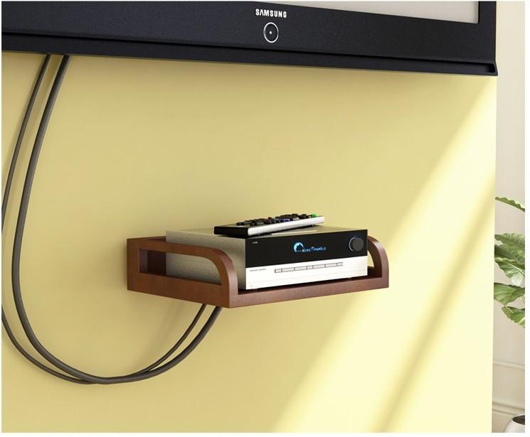 View eCraftIndia MDF Wall Shelf(Number of Shelves - 1, Brown) Furniture (eCraftIndia)