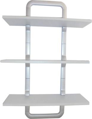 CBM Melamine, Plastic Wall Shelf