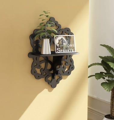 Home Sparkle Carved MDF Wall Shelf