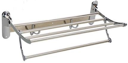 View Accurate Eye Towel Rack 24IN Stainless Steel Wall Shelf(Number of Shelves - 4, Steel) Furniture (Accurate Eye)