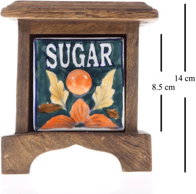 Smile2u Retailers Sugar Box Wooden Wall Shelf(Number of Shelves - 1, Multicolor)