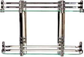 FLICKER Glass Wall Shelf(Number of Shelves - 2)