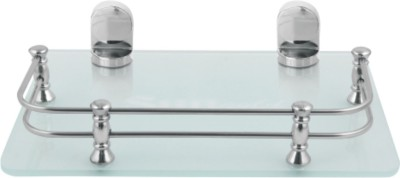 Sungold Glass Wall Shelf(Number of Shelves - 1, Clear)