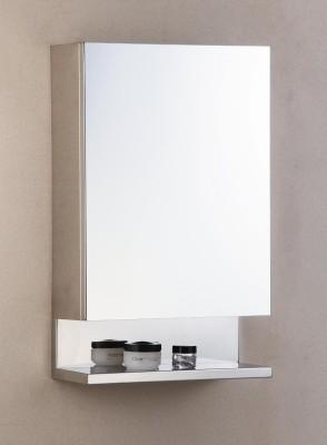 Cipla Plast New Look Stainless Steel Bathroom Cabinet Stainless Steel Wall Shelf(Number of Shelves - 5, Steel)
