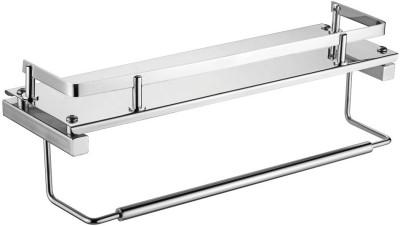 dazzle 5 X 12 Shelf with Napkin Holder Stainless Steel Wall Shelf