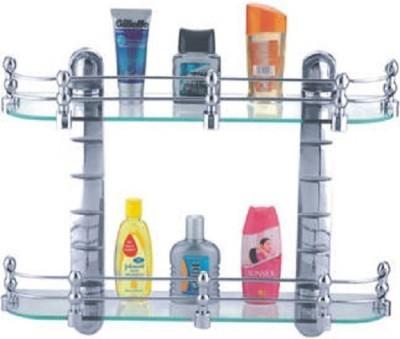 Cipla Plast Elegant (20x5.5) Set Glass Wall Shelf