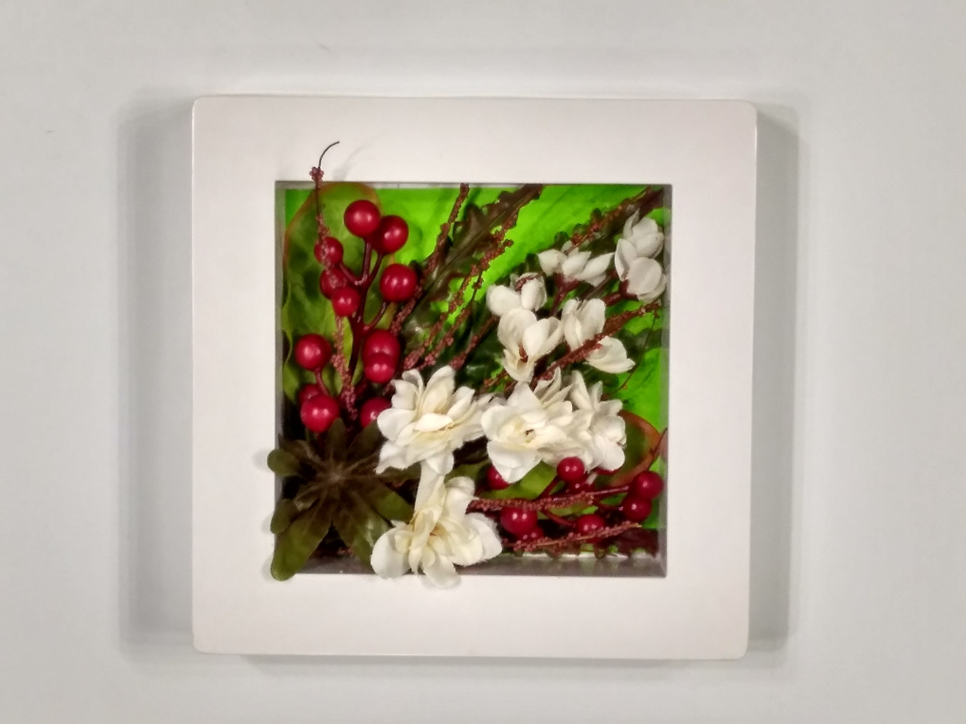 View Bengal Blooms Wall hanging small Plastic Wall Shelf(Number of Shelves - 1, Multicolor) Furniture (Bengal Blooms)