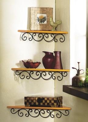 New Look Iron, Wooden Wall Shelf