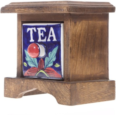 Fashion Craft Tea Box Wooden Wall Shelf