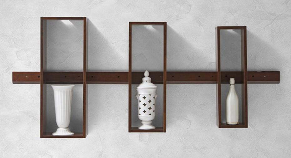 View MAMTA HANDICRAFT Wooden Wall Shelf(Number of Shelves - 3) Furniture (MAMTA HANDICRAFT)