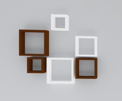 Wallz Art SQUARE SHAPE MDF Wall Shelf