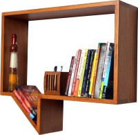 Kohinoor Wooden Wall Shelf(Number of Shelves - 1, Beige)