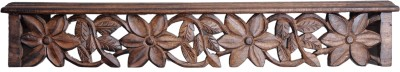 Woodenclave Blossom Wooden Wall Shelf