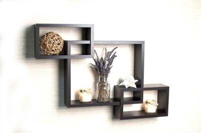 LifeEstyle Wooden Wall Shelf