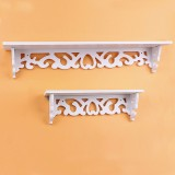 Pindia Designer set of 2 Wall Shelf MDF,...