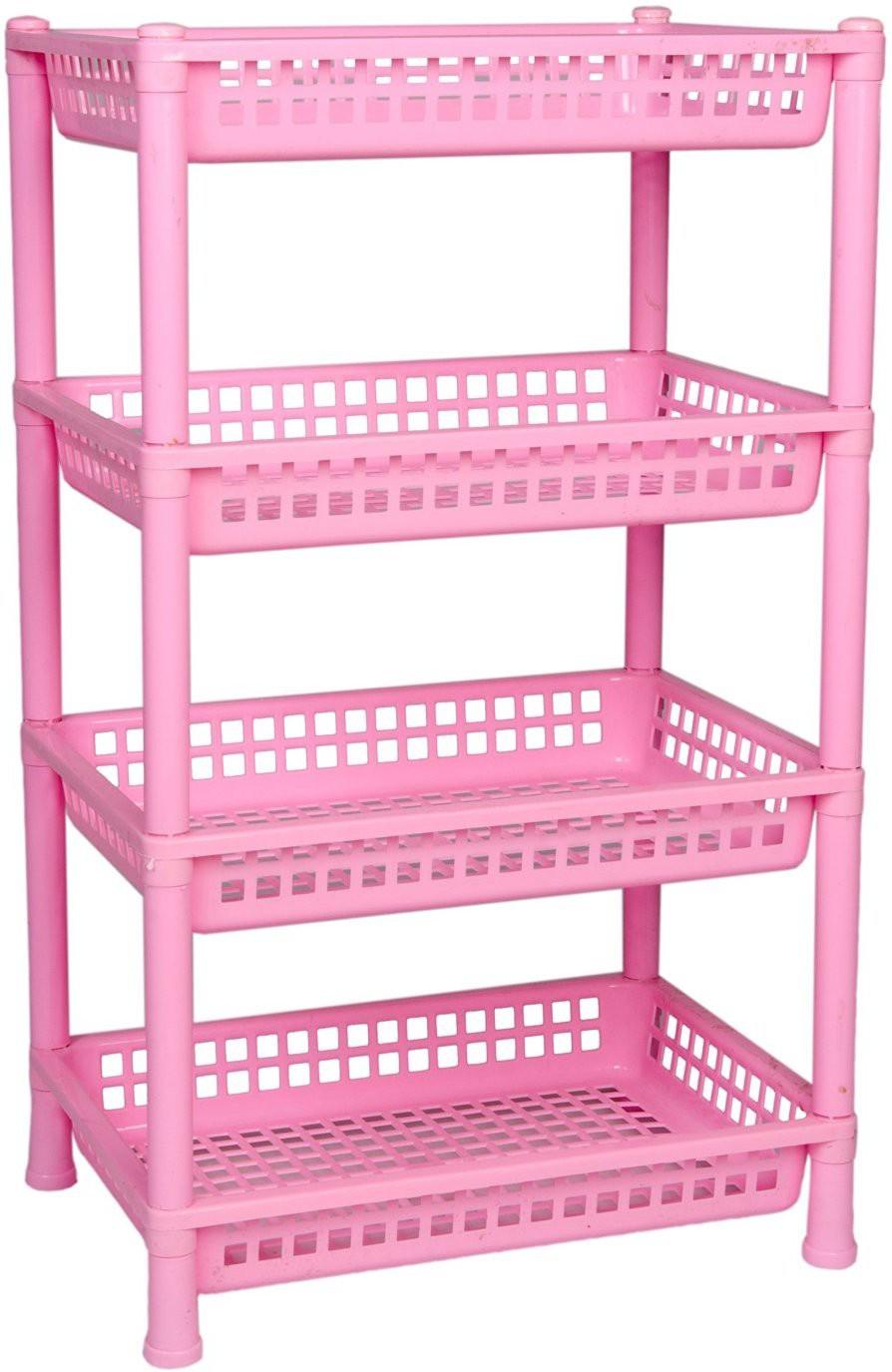 View ARISERS ENTERPRISES storage rack Plastic Wall Shelf(Number of Shelves - 4, Multicolor) Furniture (ARISERS ENTERPRISES)