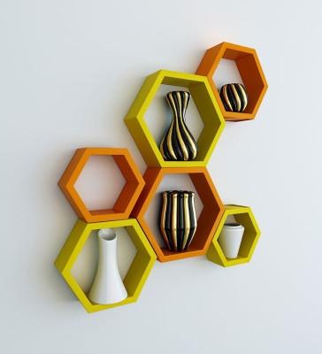 Artesia Wooden Wall Shelf