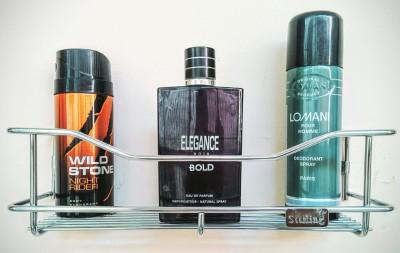 Sterling Perfume Premium Rack Stainless Steel Wall Shelf