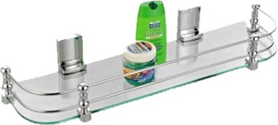 Cipla Plast Elegant (20x5.5) Glass Wall Shelf
