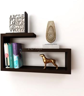 eCraftIndia Exquisite Multiutility Wooden Wall Shelf