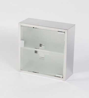 Jj Sanitaryware Laith Stainless Steel Wall Shelf