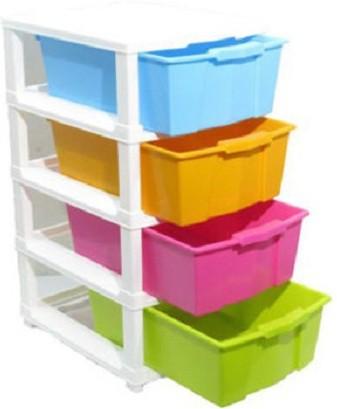 View Aristo Houseware Plastic Wall Shelf(Number of Shelves - 4) Furniture (Aristo Houseware)