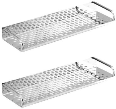 Sparky Stainless Steel Wall Shelf