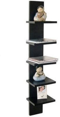 WALLZ ART 5 tier MDF Wall Shelf