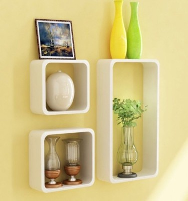 ShellysTrends Wooden Wall Shelf
