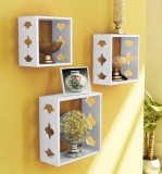 Decorhand Wooden Wall Shelf (Number of S...