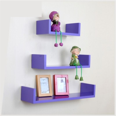 Ganeshaas GHWS015 Wooden Wall Shelf