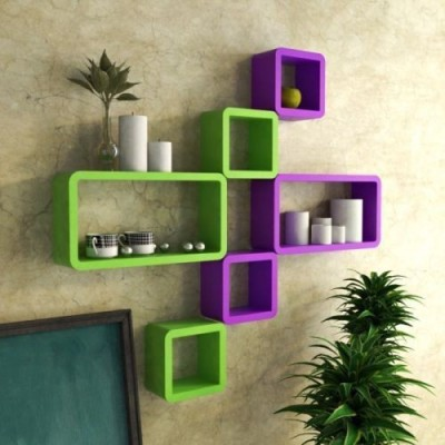 Usha Furniture MDF Wall Shelf