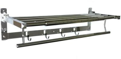 AAI Classic Folding Towel Rack 24,, Stainless Steel Wall Shelf