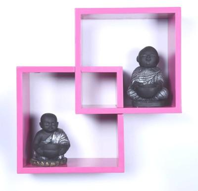 Dcjc Dcjc Knick Knock Shelf Pink MDF Wall Shelf