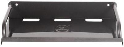 Aarya Iron Wall Shelf(Number of Shelves - 1, Black)