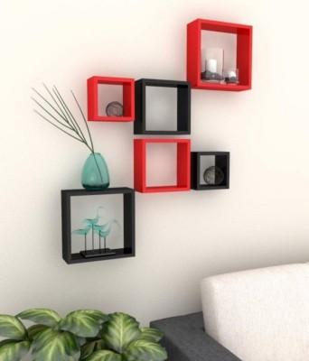 Craftatoz MDF Wall Shelf