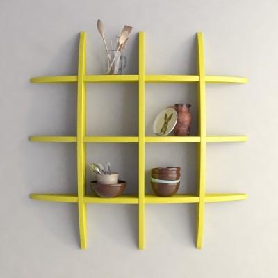 hardika furniture globe MDF Wall Shelf
