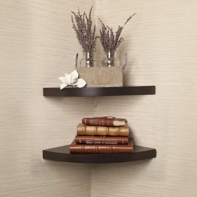 The New Look Corner Shelves Set Of 2 Steel Wall Shelf