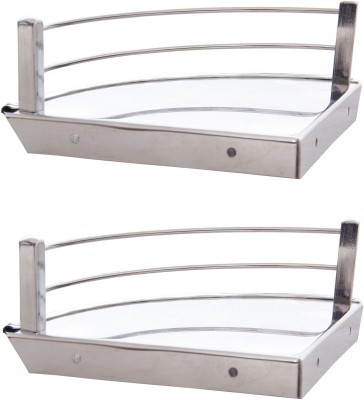Dolphy 6x6 Inch Stainless Steel Wall Shelf