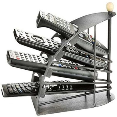 Inventure Retail Iron Metal Remote Organizer Holder Stand Cast Iron Wall Shelf