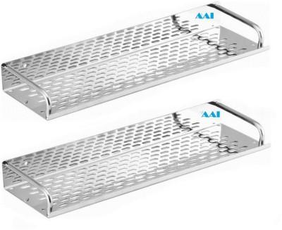 AAI Xclusive Stainless Steel Wall Shelf