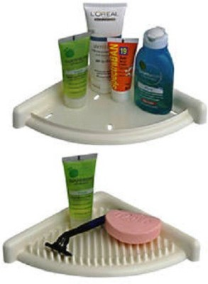 DEVICE IN LION CIPLA PLAST 3D BATH SHELVES Plastic Wall Shelf