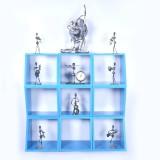 Dcjc Dcjc Multipurpose Square Shelf Blue...