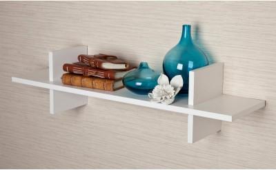 CP DECOR H Shaped Wooden Wall Shelf