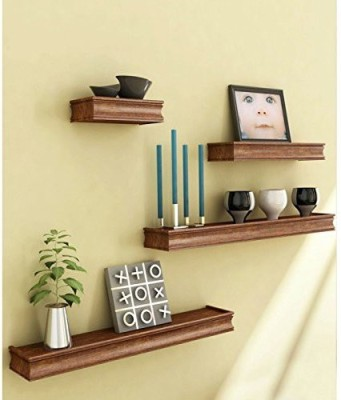 Desi Karigar Wooden, MDF Wall Shelf